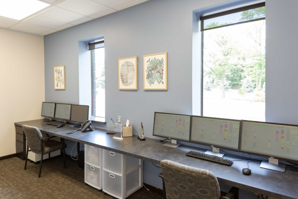 Office workers area - Laurich Dentistry - Canton - Farmington Hills - Livonia