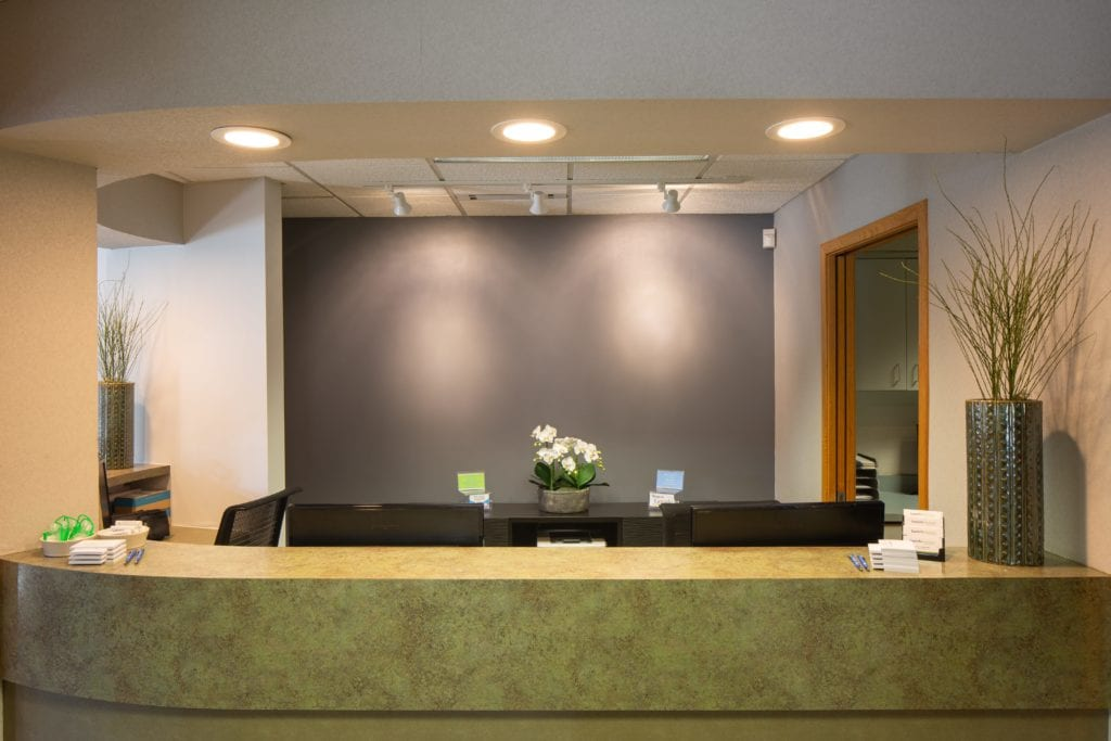 Reception - Laurich Dentistry - Canton - Farmington Hills - Livonia