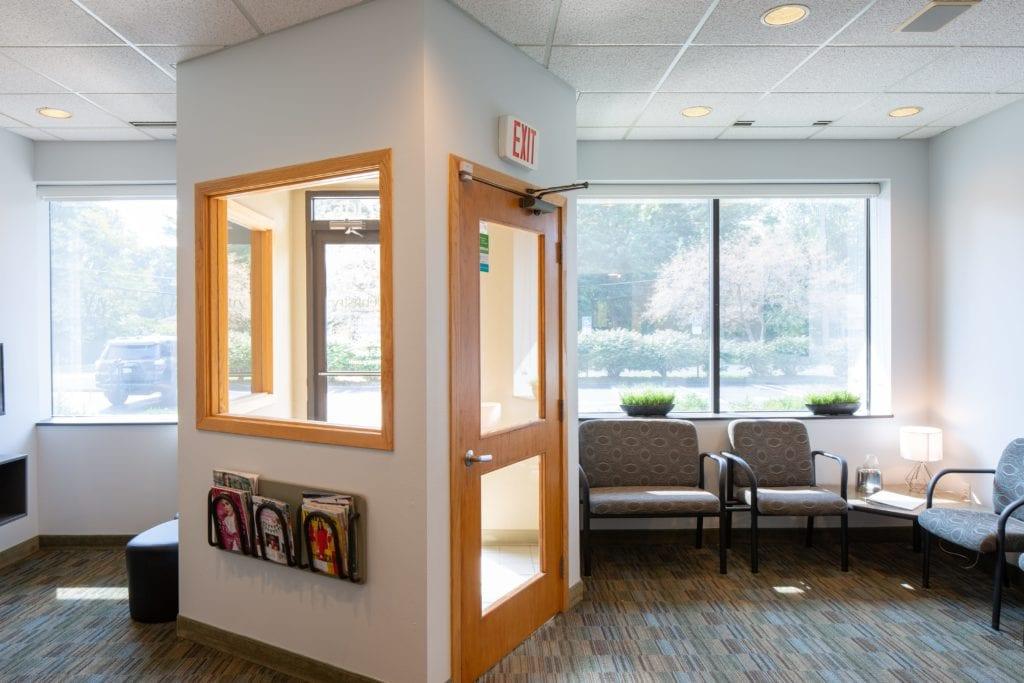 Waiting area - Laurich Dentistry - Canton - Farmington Hills - Livonia