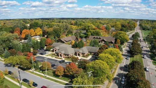 Ann Arbor from air